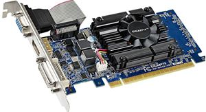 Picture of GIGABYTE GV-N610-1GI nVidia GeForce GT 610 1GB 64-Bit DDR3 PCI Express 2.0 x16 HDCP Video Card